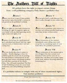 The Author's Bill of Rights