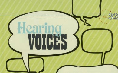 Hearing Voices Writing Exercise