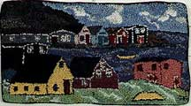 Rug Hooking Art by Deanne Fitzpatrick