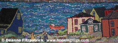 Read Deanne Fitzpatrick's rug hooking articles.