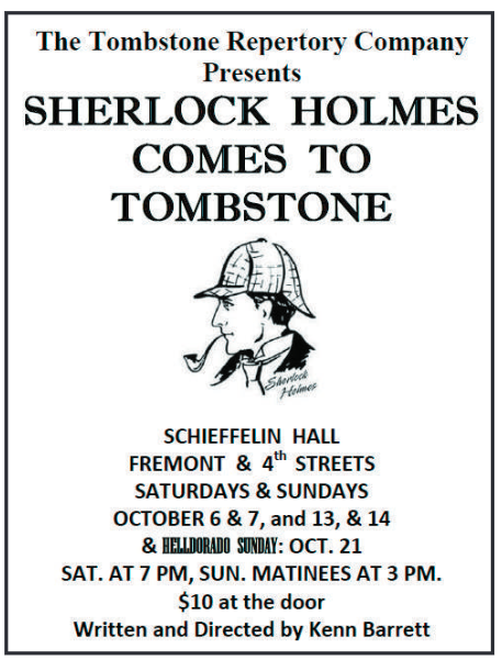 Sherlock Holmes Comes to Tombstone
