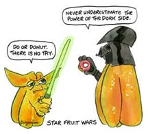 Star Fruit Wars © Lilly Fluger