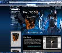 DAZ Studio Render