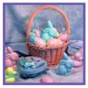Fill your Easter basket with colorful soap bars!
