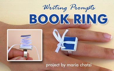 Writing Prompts Book Ring Project