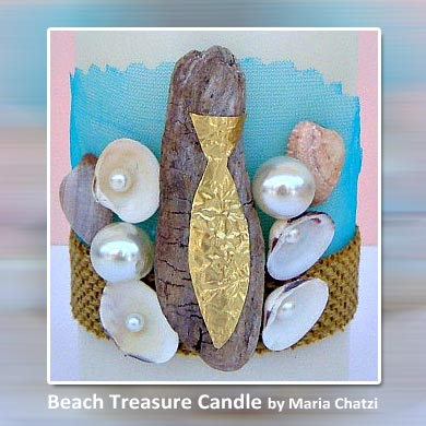 Beach Treasure Candle