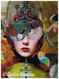 Intuitive Collage © Shelley Klammer