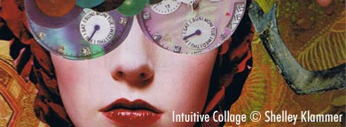 Intuitive Collage Artwork by Shelley Klammer