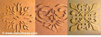Raised Stencil Designs