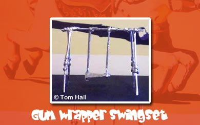Gum Wrapper Origami Fun by Tom Hall