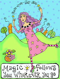 Magic follows you wherever you go by Violette