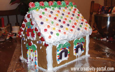 Gingerbread House Making Humor