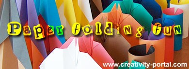 Paper Folding at Creativity-Portal.com