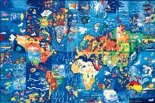 International Child Art Mural