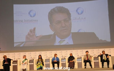 Introducing a Children's Panel at the 2010 Global Competitiveness Forum - www.icaf.org