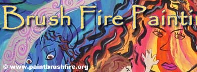 Visit Brush Fire Painting
