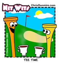 Nit Wits Tee Time © Chris Dunmire