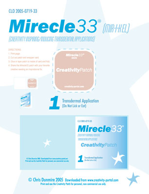 Mirecle33 Creativity Patch Kit