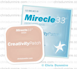 The Original Mirecle33 Creativity Patch
