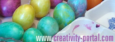 Easter Egg Dyeing Fun