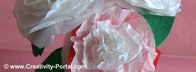 Make Tissue Paper Flowers!